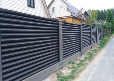 лист забор